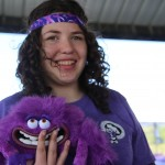 Natalie at the 2014 Purple Dash 5k